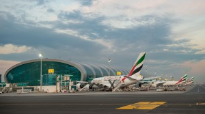 Concourse A airside, Dubai International Airport