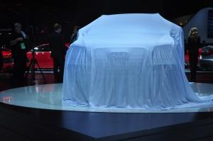Audi SQ5 under wraps in Detroit