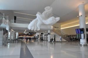 Virgin America's terminal at SFO