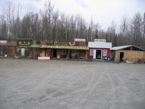 Roadside shops in Alaska