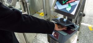 Automated border controls at Frankfurt's airport