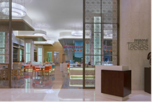 Seasonal Tastes restaurant at the Westin Chennai Velachery