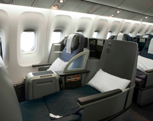 United's new lie-flat business-class seat