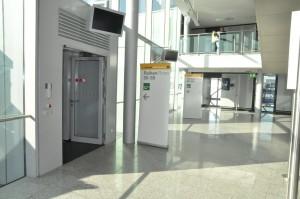 Lufthansa A380 boarding gate at Frankfurt