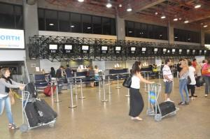 Check-in in São Paulo, Brazil