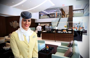 Etihad's new lounge in Washington, D.C.
