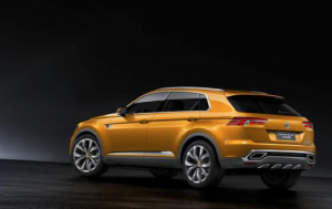 Volkswagen CrossBlue Coupe Concept Car