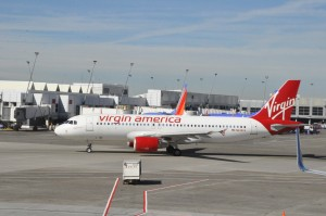 A Virgin America Airbus A320