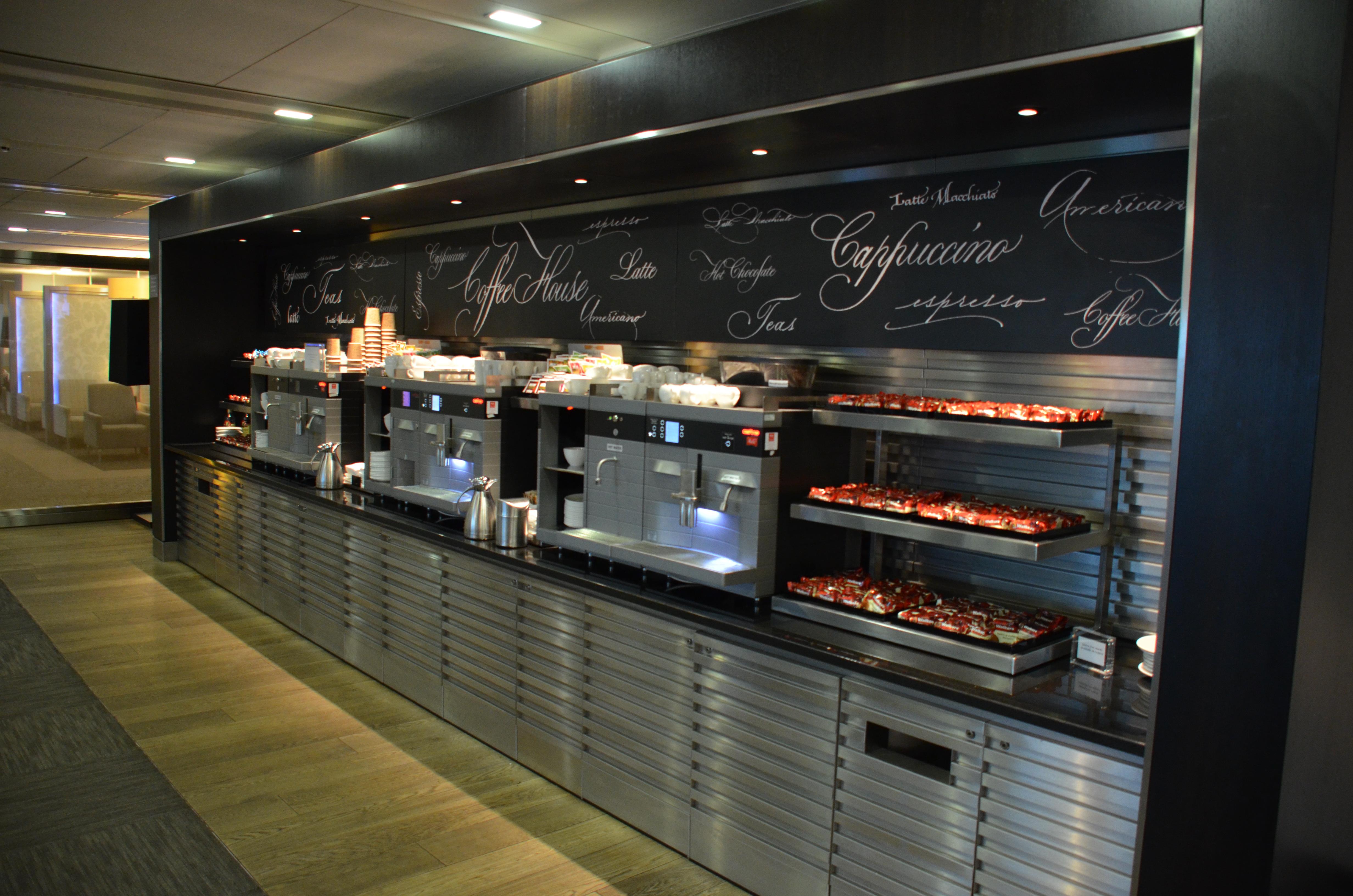 British Airways Galleries First Lounge London Heathrow