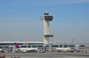 John F. Kennedy International Airport earlier this month