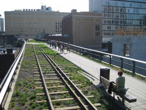 The High Line near 20th Street