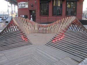Outdoor art in Dumbo