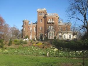 Litchfield Villa (built in 1854) and Prospect Park