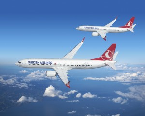 Boeing 737 Max 8 and 9 in Turkish Airlines' livery