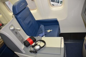 BusinessElite seating on a Delta 767-300ER