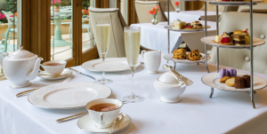 Afternoon tea at the Rittenhouse