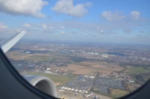 London Heathrow as seen from the air