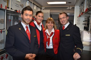 Edelweiss Air crew on Flight 17