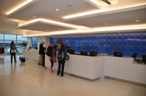 Delta Sky Club check-in