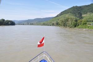 On board a Danube steamship