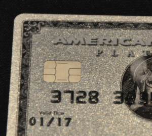 Amex Platinum card with EMV