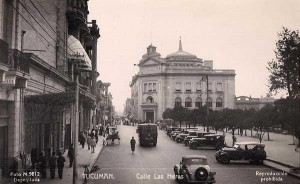 Downtown Tucumán in the 1920s.