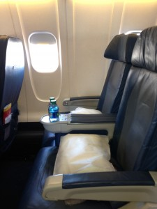First class on a CRJ-900