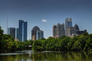 Atlanta's midtown Skyline
