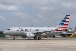 American's A319 Airbus