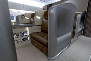 Singapore's new first-class suite