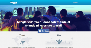 Tint.travel's home page