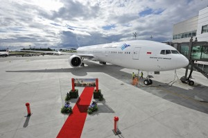 Garuda's first 777-300ER