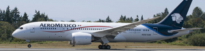 Aeromexico's first Dreamliner