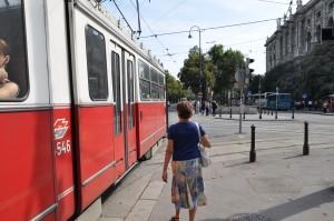 Street scene in Vienna
