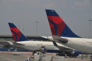 Delta aircraft at JFK