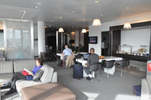 The Galleries First lounge