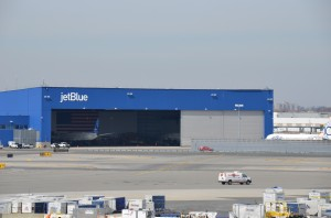 JetBlue's hangar at JFK