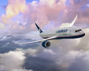 An Aeromexico 787