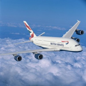A British Airways A380