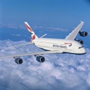 A British Airways A380
