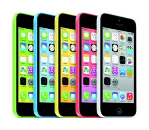 The iPhone 5c color lineup