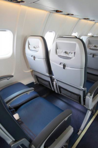 United's new seats, shown on the CRJ700