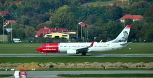 A Norweigian aircraft in Kraków