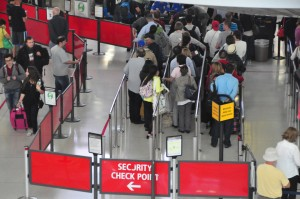 Security Checkpoint at JFK