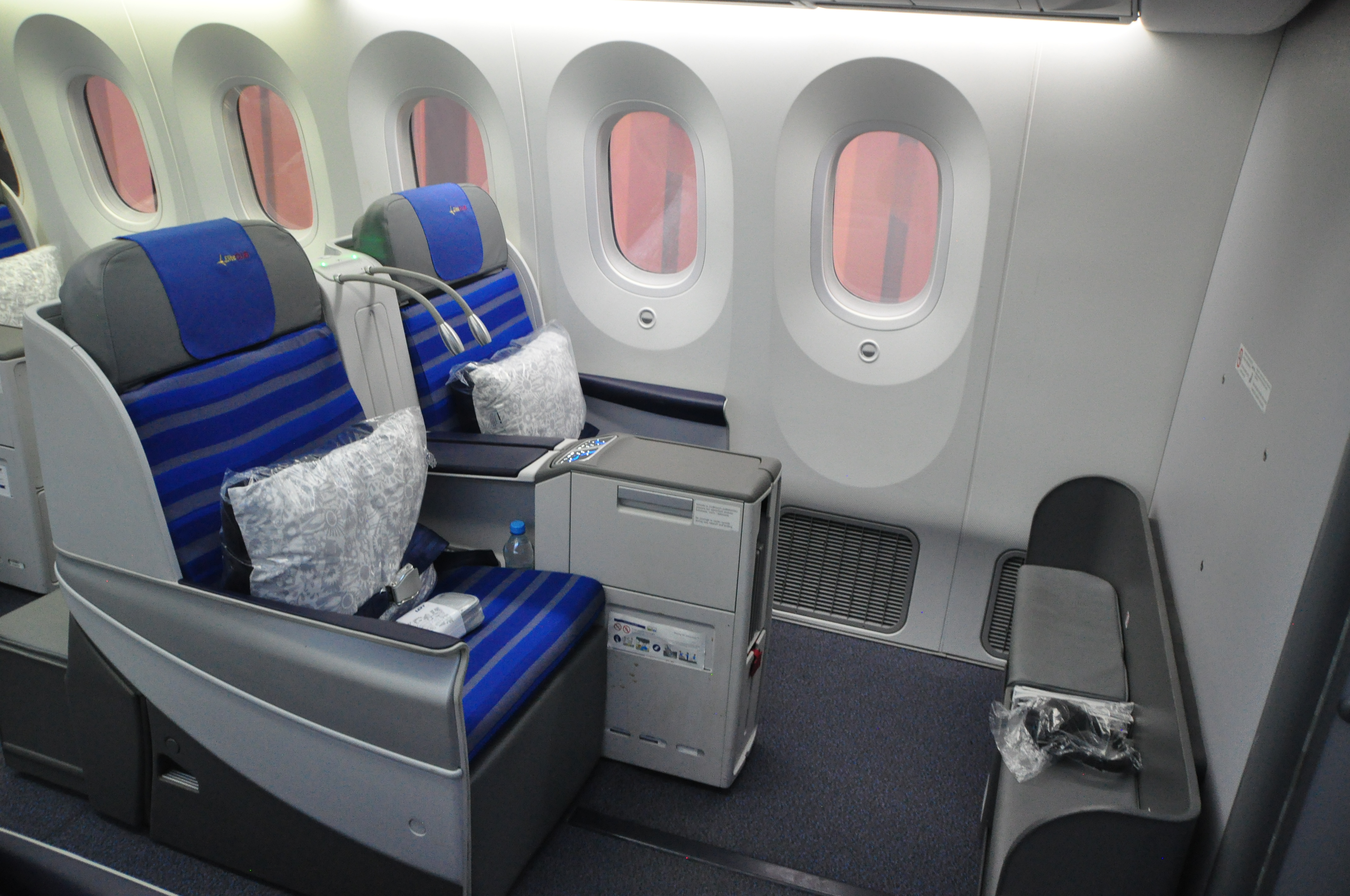 Lot Polish Airlines Boeing 787 Dreamliner Virtual Tour