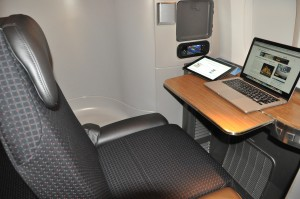 In-flight Internet on an American Airlines 777-300ER