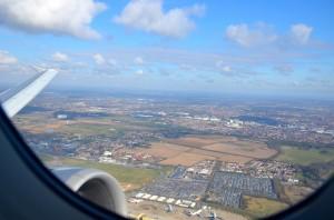 London Heathrow from the air
