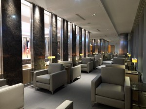 Air Canada's Maple Leaf Lounge in Frankfurt