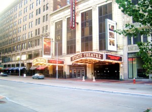 Playhouse Square on Euclid Avenue