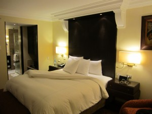 A room at the JW Marriott Hotel Cusco